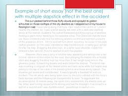 accident report essay 13 example of short essay