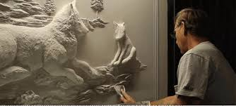 check out art sculptures made entirely