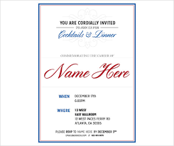 patriotic invitations templates patriotic invitation templates free retirement party invitation