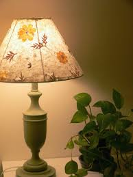 Paper Flower Lamp Pressed Flower Paper Lampshades Anodyne Design