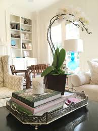 How To Decorate A Coffee Table Tray Coffee Table Coffee Table Tray New With Cool Glass Tables Candles 59