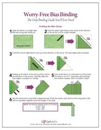 Worry-Free Bias Binding Guide Card - The Quilt Patch & Worry-Free Bias Binding Guide Card Adamdwight.com