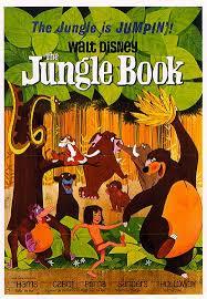 the jungle book cartoon poster