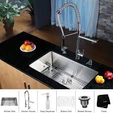 Kitchen Kraus Sinks Undermount Stainless Steel Sinks 36 Inch