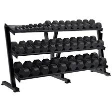 Rubber Coated Hex Dumbbell Set With Rack Stunning York Barbell 3232 Lbs 32 Pairs Rubber Coated Hex Dumbbells Set