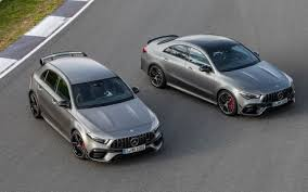 The 2020 model year brings improved dynamics, new tech, and a bit of fresh styling to the gt lineup, which received a facelift and gained the roadster body style and gt c variant in 2016. 2020 Mercedes Amg A 45 And Cla 45 Unleashed With Up To 421 Hp The Car Guide