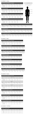 Blackberrys Size Chart Size Guide