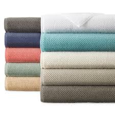 bath towels. JCPenney Home™ Quick Dri Textured Solid Bath Towels O