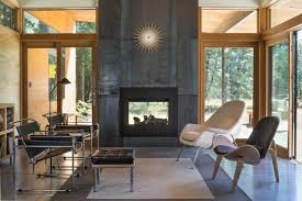 dwell modern lounge furniture. 10 Modern Fireplaces That Make For Inviting Interiors Dwell Lounge Furniture