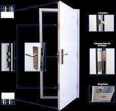 front door securityPVC Doors vs Steel Doors