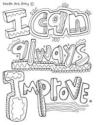 This set of eight free printable pages is perfect for getting kids started on thinking of a growth mindset on their own. Growth Mindset Coloring Pages Classroom Doodles
