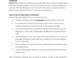 Work Cited Or Works Cited Format Template Works Cited Beautiful Work Luxury Unique Google Docs