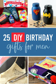 diy birthday gifts for men