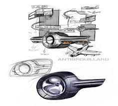 Fog Light Design Peugeot 208 Fog Light Design Sketch Car Body Design