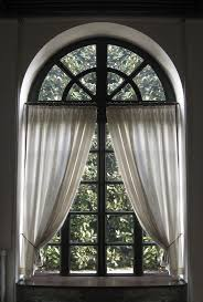 Making a curtain for an arched window is not as difficult as it may seem.  This is a guide about making a curtain for an arched window.