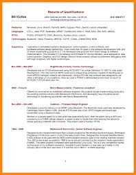 12 Summary Of Qualifications Resume Example Apgar Score Chart