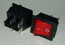 dpst switch 2pcs 4 pin on off2 position dpst snap in boat rocker switch red light