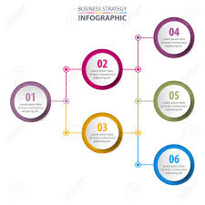 Business Infographics Strategy Chart Design Template Illustration