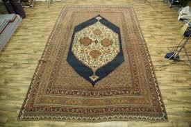 palace size antique vegetable dye 12x18 bidjar halvaei persian oriental area rug