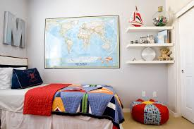 Sumptuous floating corner shelves in Kids Eclectic with Paris Theme Bedrooms  next to Bedroom Decoration alongside Teen ...