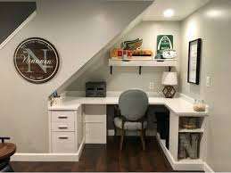 Office desk home work Diy Underthestairs Homework Station Or Family Office The Spruce 20 Homework Station Ideas For Kids And Teens