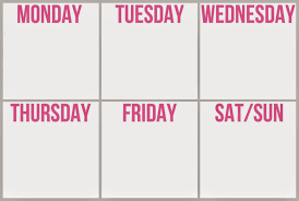blank work schedule 8 ways to find time to exercise on the busiest schedule fit