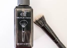e l f daily brush cleanser