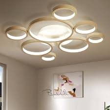 bubble ceiling lamp with 8 round led