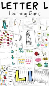 The 25 Best Letter L Worksheets Ideas On Pinterest Beginning