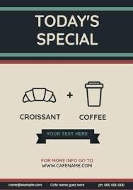 Cafe Menu Template Menu Templates Choose Your Favorite Customize In Minutes