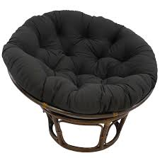 Amazon Blazing Needles Solid Twill Papasan Chair Cushion 44