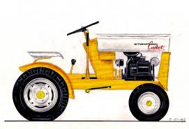 cub cadet garden tractor on the map one of keith burnham s 10 horsepower concept drawings rendered as part of the second series design