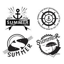 Summer And Holiday Typography Illustration Vector Free Download