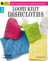 Loom Knitting Patterns For Beginners Enchanting Loom Knit Dishcloths