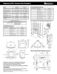 indoor fireplace users guides indoor fireplace page 160 for gas fireplace dimensions