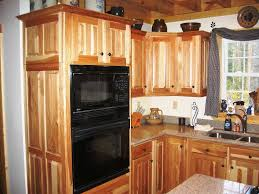 Hickory Kitchen Knotty Hickory Kitchen Cabinets
