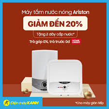 Sắm máy tắm nước nóng Ariston 💥💥 GIẢM... - Điện máy XANH  (dienmayxanh.com)