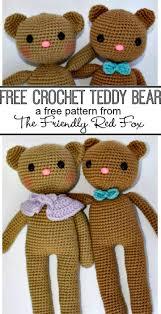 Easy Crochet Teddy Bear Pattern Unique Decoration