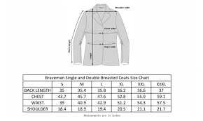 Braveman Mens Single Or Double Breasted Wool Blend Coat S