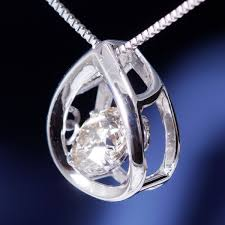 popular products serve the movement won t stop dancing stone diamond pendant new special offer platinum diamond dancing is stone pendant necklace over 0 5