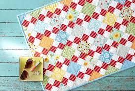 Fat Quarter Baby Quilt Patterns Free Downloads Fat Quarter ... & ... Fat Quarter Friendly Baby Quilts Summer Days Table Topper Fat Quarter  Baby Quilts Patterns Fat Quarter Easyfatquarterquilt ... Adamdwight.com