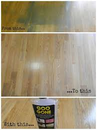 how to remove spray paint from hardwood floors