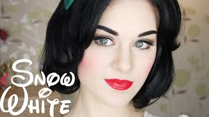 snow white makeup tutorial if disney princesses were real costume disney cosplay innocent doe e eye make up how to black hair