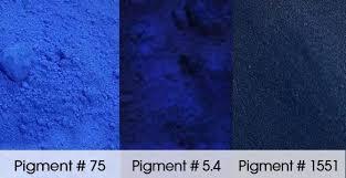 premium blue concrete pigment
