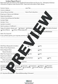 Medication Incident Report Form Template Employee Documentation ...