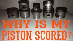 Scored Chainsaw Piston Failure Analysis