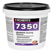 roberts 7350 1 qt universal vinyl flooring adhesive