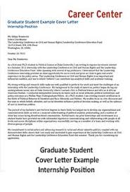 what to put in a cover letter for an internship cover letter student affairs