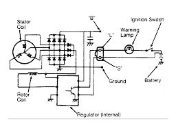 wiring diagram for alternator the wiring diagram where to a simple starter alternator wiring schematic wiring diagram