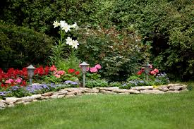 flower bed lighting. Adding Lighting Elements To Your Flower Bed Lets People See Lively Flowers At Night,